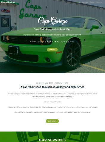 Automotive website design by iSeed Digital