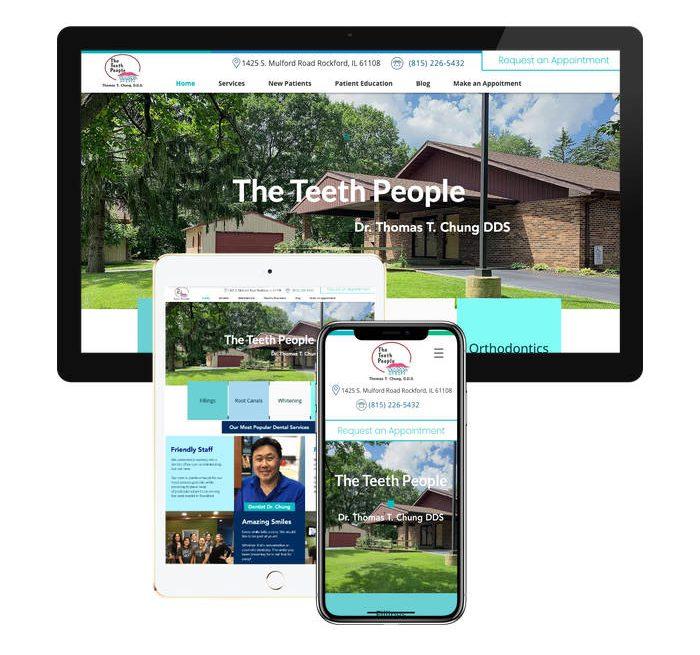 Multi screen responsive website design company - iSeed Digital
