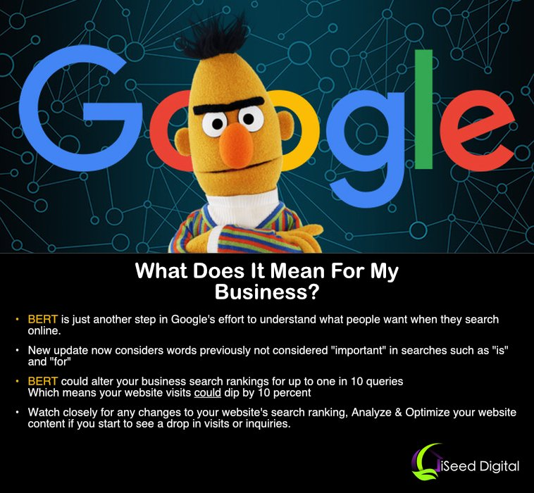 What does BERT mean for my business