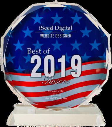 iSeed Digital Web Design Award
